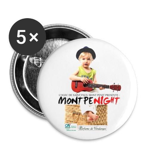 Badge Montpenight - Badge grand 56 mm