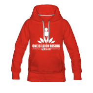 Pullover & Hoodies ~ Frauen Premium Kapuzenpullover ~ Red OBR Pulli