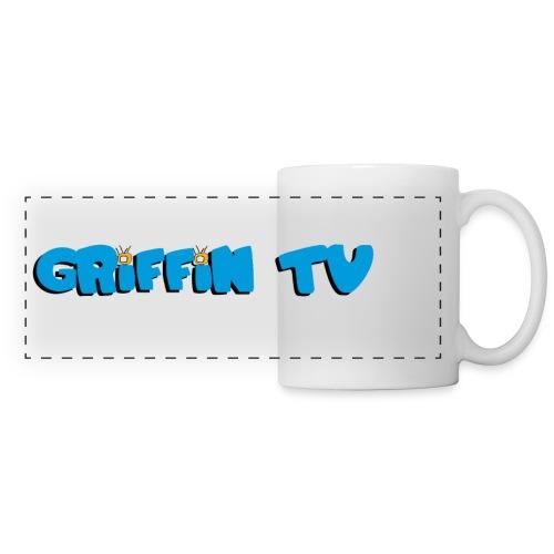Mug Griffin-TV - Mug panoramique contrasté et blanc