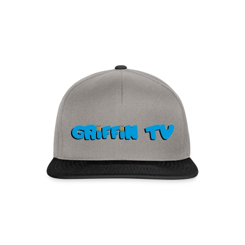 Casquette Griffin-TV (H/F) - Casquette snapback