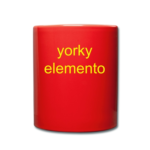 yorky mug - Full Colour Mug