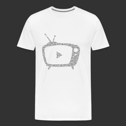 Peppone Texty - T-shirt Premium Homme
