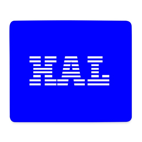 HAL - IBM style HAL 9000 Mouse Mat - Mouse Pad (horizontal)