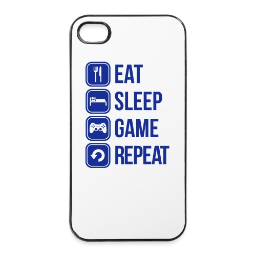 Eat, Sleep, Game, Repeat I phone case - iPhone 4/4s Hard Case