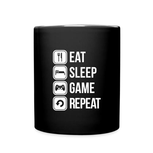 Eat, Sleep, Game, Repeat. Mug - Full Colour Mug