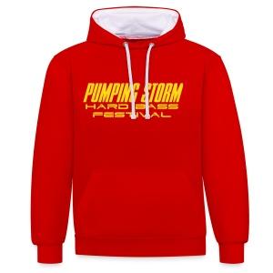 Pumping Storm HBC015 - Contrast Colour Hoodie