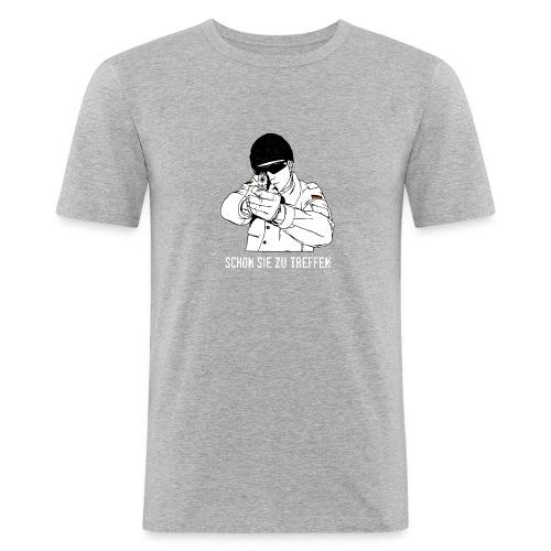 Schön Sie zu treffen - Männer Slim Fit T-Shirt