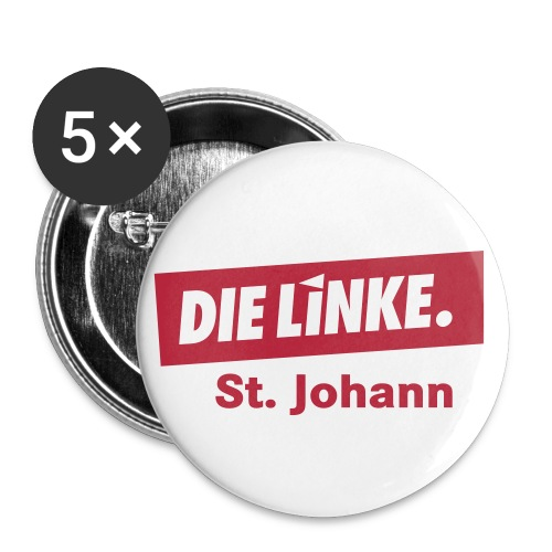 Pins, klein - Buttons klein 25 mm