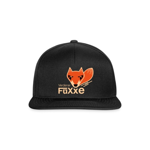 Verdener FüXxe - Cap - schwarz - Snapback Cap