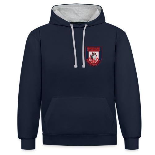 FF Behrenhoff Kapuzen- Pullover - Kontrast-Hoodie