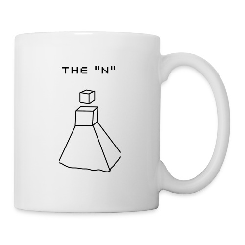 THE N Cubic Robot Girl - Mug blanc