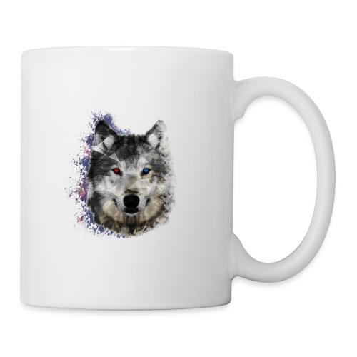 MUG Loup - Mug blanc