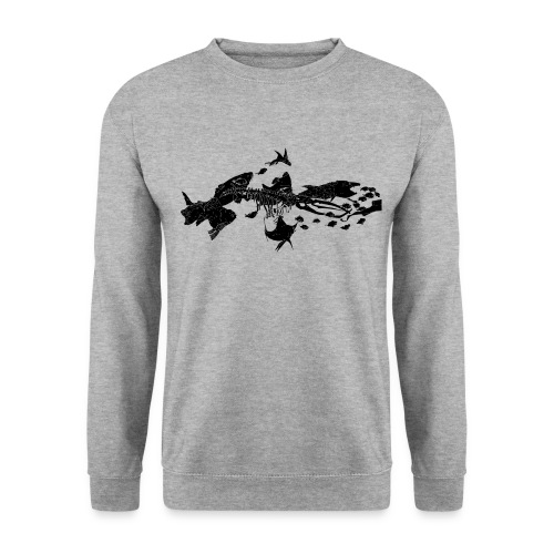 poissons - Sweat-shirt Homme