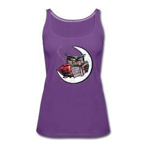 fighting with the night - Women's Premium Tank Top