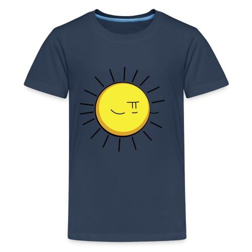 Crappy Werewolf Jokes Sun Tee - Teenage Premium T-Shirt