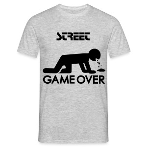 STREET GAME OVER - T-shirt Homme
