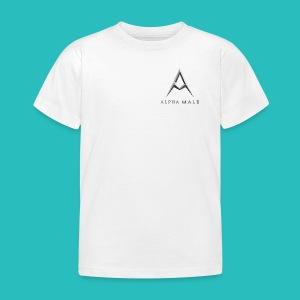 AlphaMale Jnr tee  - Kids' T-Shirt