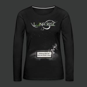 Luna Rise - Smoking - Frauen Premium Langarmshirt