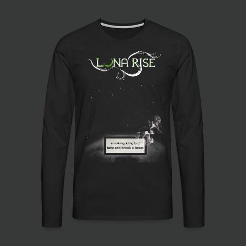Luna Rise - Smoking - Männer Premium Langarmshirt