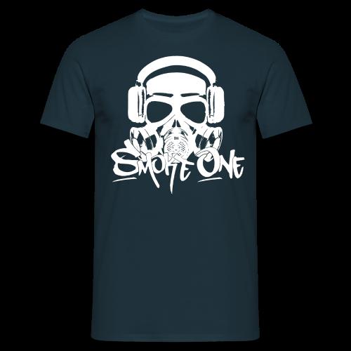Smoke One male | blau - Männer T-Shirt