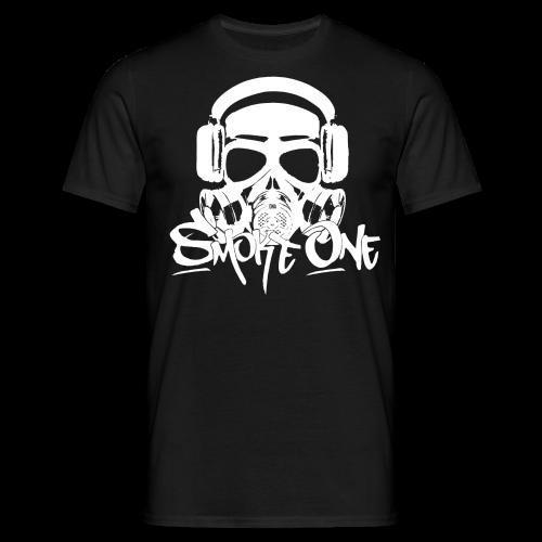 Smoke One male | schwarz - Männer T-Shirt
