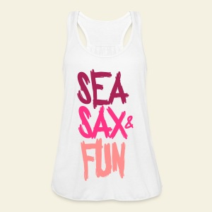 Sea, sax and Fun - Débardeur Bella Femme