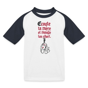 Tee shirt baseball Enfant - T-shirt baseball Enfant