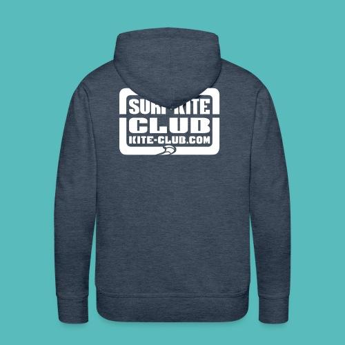 Surf & Kite Club Logo - Männer Premium Hoodie