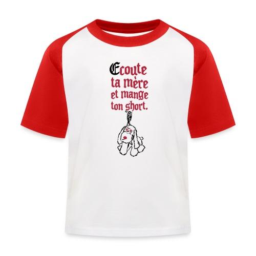 Tee shirt baseball Enfant - T-shirt baseball Enfant