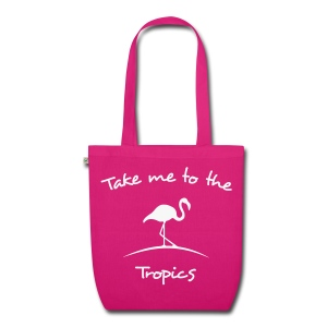 Take me to the tropics - Bio stoffen tas