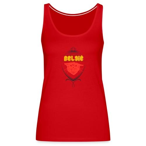 België Designer Shirt - Frauen Premium Tank Top
