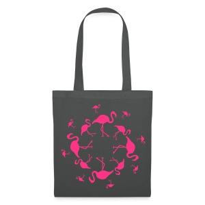 Flamingo's - Tas van stof