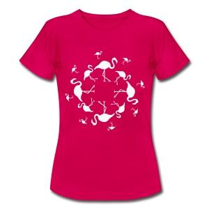 Flamingo's - Vrouwen T-shirt