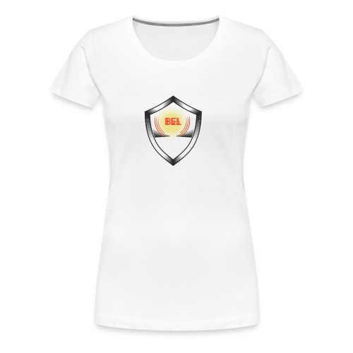 België Designer Shirt - Frauen Premium T-Shirt
