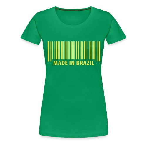 MadeinBrazil - Frauen Premium T-Shirt