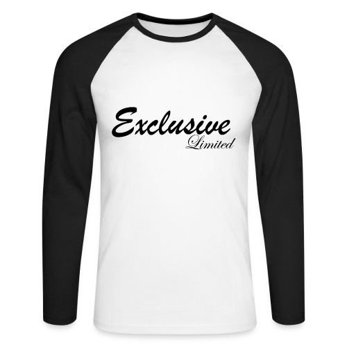Exclusive Long-Sleeve Shirt Limited Edition - Men's Long Sleeve Baseball T-Shirt