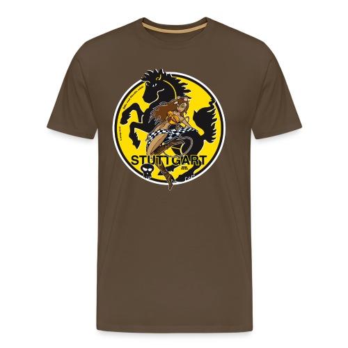 Stuttgart in wild! - Männer Premium T-Shirt