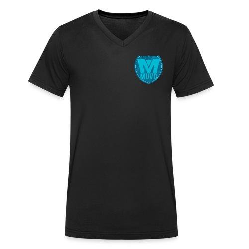 Muvo Shield V-Neck - Ekologisk T-shirt med V-ringning herr från Stanley & Stella