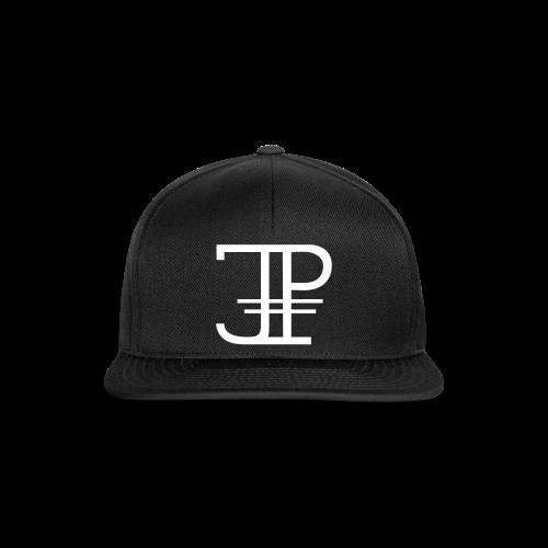 Jonas Platin Snapback (Schwarz/Weiß) - Snapback Cap