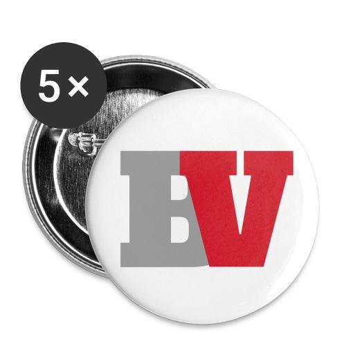 Badges BV - Lot de 5 petits badges (25 mm)