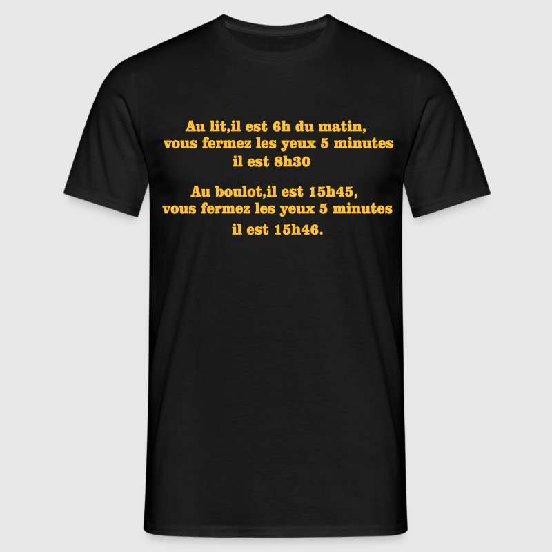 phrase d'humour Tee shirts - T-shirt Homme
