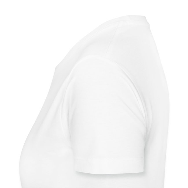 t shirt femme blanc motif face avant