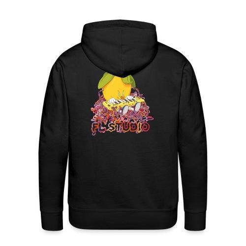 FL Studio Hoodie (Spaghetti back) - Men's Premium Hoodie
