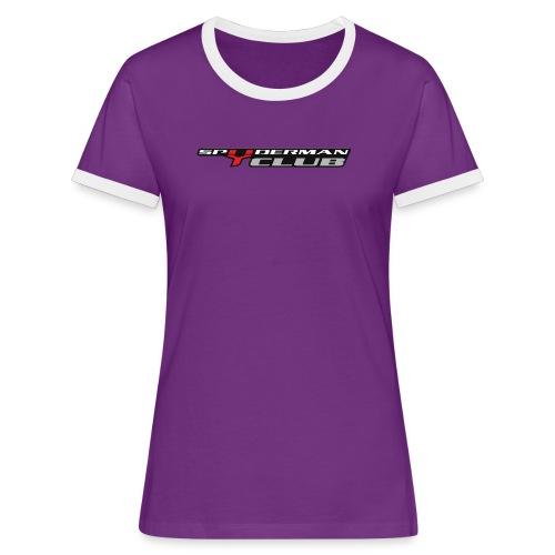 Mafli corta donna SpydermanClub - Maglietta Contrast da donna