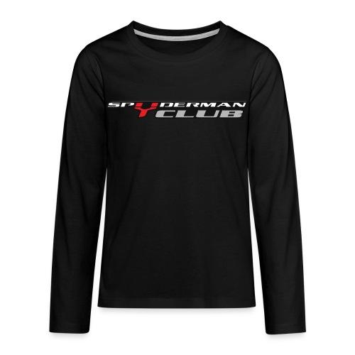 Manica Lunga SpydermanClub - Maglietta Premium a manica lunga per teenager