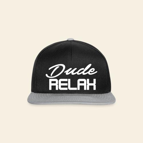 Dude Relax Snapback - Snapback Cap