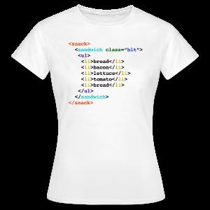 BLT HTML Geek Sandwich