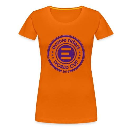 Orange woman logo - T-shirt Premium Femme