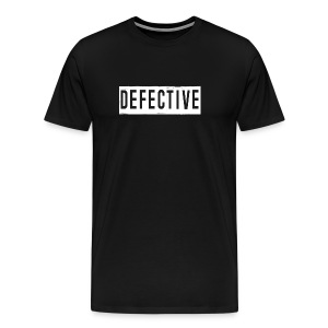 Defective Black - Men's Premium T-Shirt