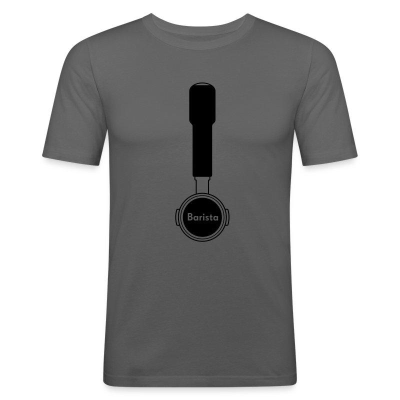 Siebträger Barista V - Männer Slim Fit T-Shirt